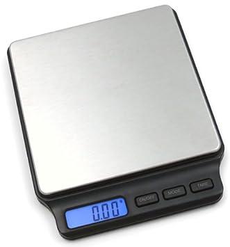 MANCEL BOUTIQUE Báscula de Cocina Multifuncional, Digital, Acero Inoxidable, precisión, 200 g x 0,01 g: Amazon.es: Hogar