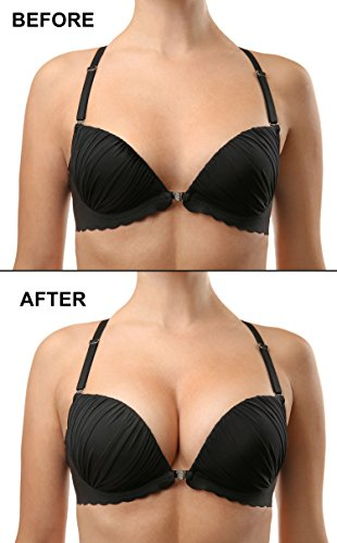 Silicone Bra Inserts for Women by Coco's Closet, Natural ...