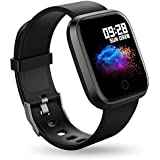 Smart Watch Fitness Activity Tracker - RIVERSONG Color Screen Waterproof Sports Fitness Watch with Heart Rate Calories GPS Pedometer Sleep Monitor Call/Message Reminder Music Player for Men Women Kids