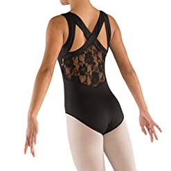 Danznmotion By Danshuz Girls Strap Leotard