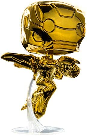 Funko Pop! Avengers Infinity War – Iron Man [Chrome Gold] #285 – [EXCLUSIVE – SUPER RARE!!!]