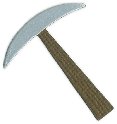 We R Memory Keepers 2-Inch by 2-Inch Die, Pickaxe Axe Keeper