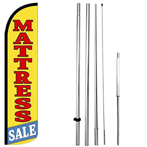 Mattress Sale - Windless Swooper Flag Kit Feather Banner Sign yz-h