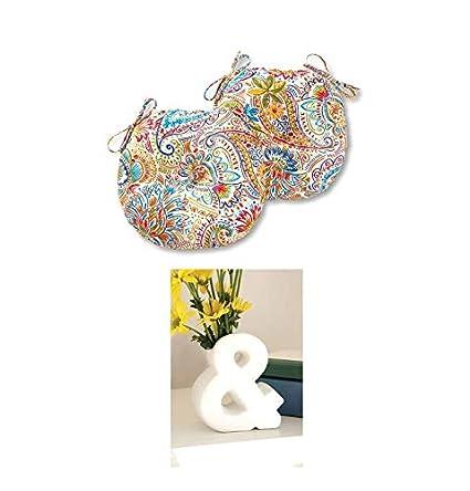 Amazon.com: Greendale Home Fashions 15 pulgadas. Juego de 4 ...