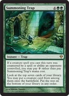 Magic: the Gathering - Summoning Trap (184) - Zendikar
