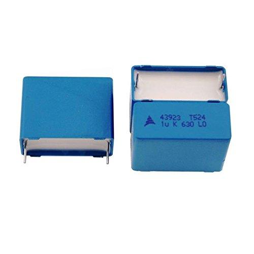 delicate 5x MKT-Condensateur rad. 1µF 630V AC   27,5mm   B32524Q8105K 922e214b8e8