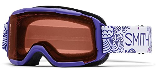 Smith Optics Daredevil Youth Junior Series Ski Snowmobile Goggles Eyewear - Violet Fridays / RC36 / Medium
