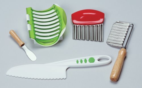 Kids Chopper - Montessori Toddler & Up Knife & Slice Sequence Kit