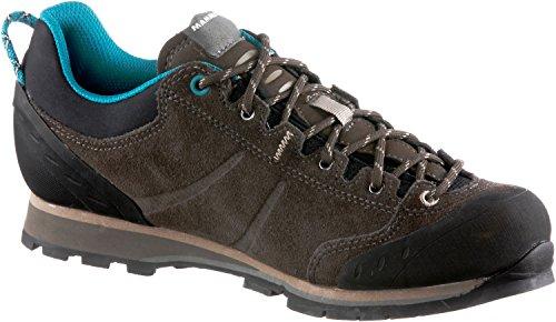 Mammut Wall Guide Low Women (Backpacking/Hiking Footwear (Low)) - bark-dark taupe