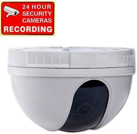 VideoSecu CCTV CCD Dome Security Camera 420 TVL f 3.6mm Wide Angle Lens for DVR Home Surveillance System DM10W 1CZ