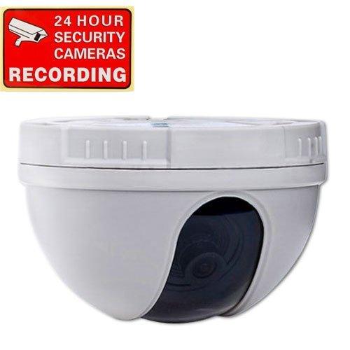 VideoSecu CCTV CCD Dome Security Camera 420 TVL f 3.6mm Wide Angle Lens for DVR Home Surveillance System DM10W 1CZ