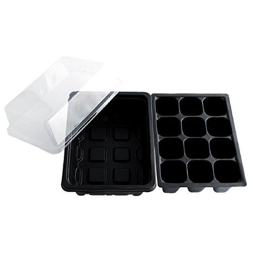 Grow Pot Case (12 Cells Hole Nursery Pot Plant Seeds Grow Box Garden Tools)