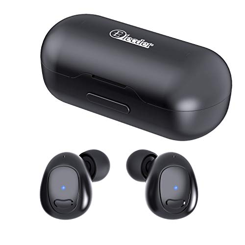 Elecder D9 True Wireless Earbuds Bluetooth 5.0 Sport Headphones 3D Stereo Sound in-Ear Earphones with Microphone, Charging Case, IPX5 Sweatproof for Workout, Running, Update