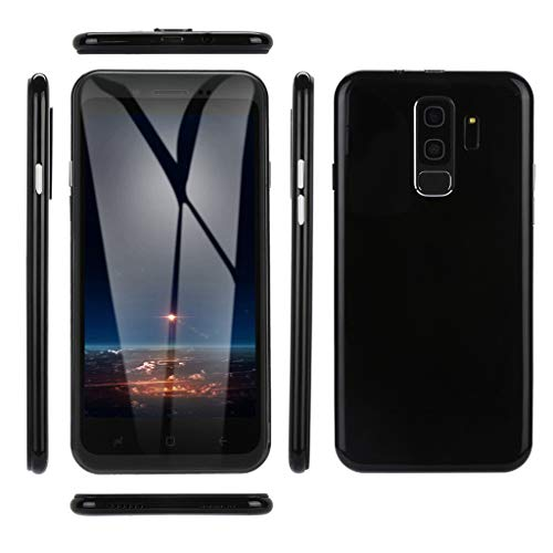 Creazy 5.0 inch Dual HDCamera Smartphone Android 6.0 IPS Full Screen GSM/WCDMA Touch Screen WiFi Bluetooth GPS 3G Call Mobile Phone (Black) ()