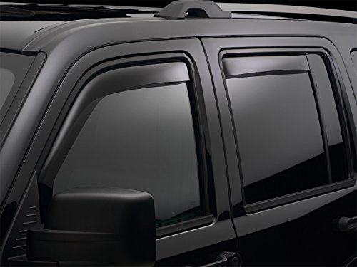 WeatherTech (82740 Side Window Deflector, Front and Rear