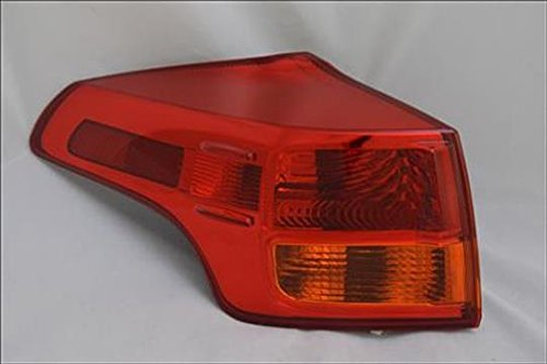 Partslink TO2804116 Multiple Manufacturers TO2804116N OE Replacement Tail Light Assembly TOYOTA RAV4 2013-2014