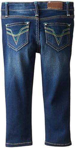 VIGOSS Girls Five Pocket Stretch Skinny Jeans | Denim Jeggings Apparel