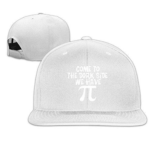 Runy Custom Dork Side Dark أ Adjustable Baseball Hat & Cap White