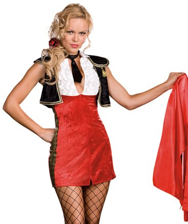 Bullfighter Tori Adore Adult Costume Size -