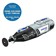 The Dremel 8220 variable-speed cordless rotary tool offers the highest performance and versatility of all Dremel cordless rotary tools. The strength of its motor facilitates maximum performance at all speed levels. The ability to use all exis...