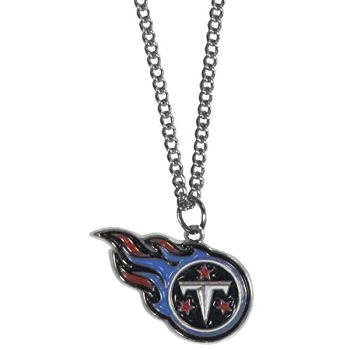 (Siskiyou NFL Tennessee Titans Chain Necklace with Small Pendant, 20