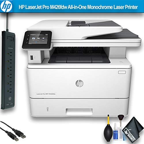HP Laserjet Pro M426fdw All-in-One Monochrome Laser Printer (F6W15A) Essential Bundle ()