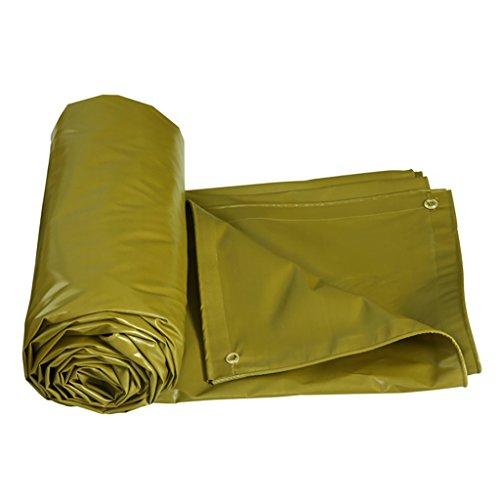 必要条件放射能重さ雨布厚い断熱テント防水布雨布防水布厚いプラスチックシート様々なサイズのパンチングロープキャンバス (サイズ さいず : 6 * 5m)