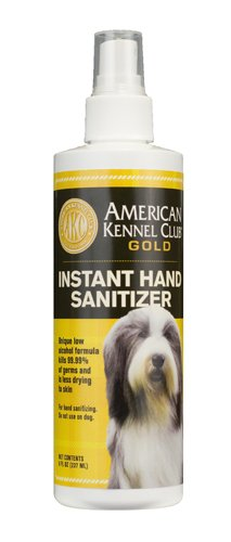 American Kennel Club Gold Hand Sanitizer  8 Ounce