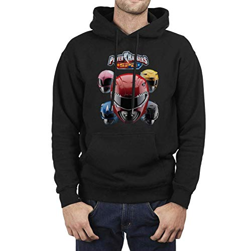 Men's Power-Rangers-SPD- Black Fleece Sweatshirt