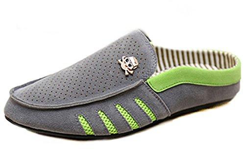 Un Autre Été Chaussures De Mocassins De Haute Qualité Fabriqués Par Lhomme Glisser Sur Les Chaussures Gris