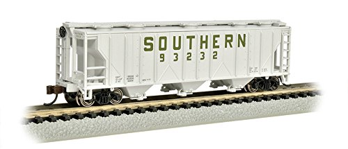 Bachmann Industries PS-2 Southern Three-Bay Covered Hopper Vehicle (N (Scale Ps2 Covered Hopper)
