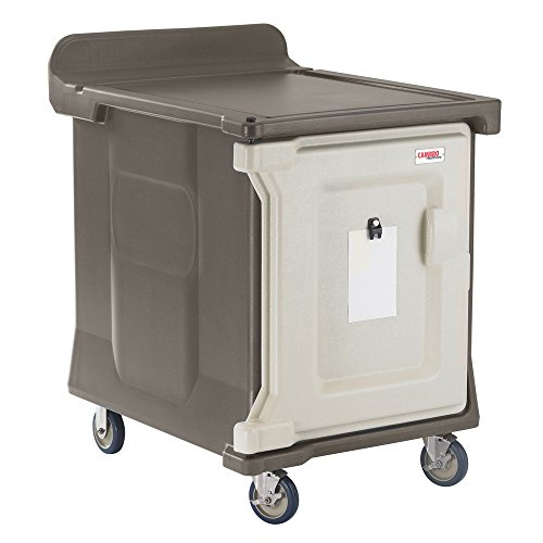 Meal Delivery Cart (Cambro MDC1520S10194 Granite Sand Low Profile 10-Tray Meal Delivery Cart with Standard Casters)