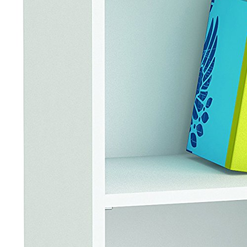 40 x 99,6 x 26,8 cm Demeyere 289853 Blanco Largeur /étag/ère /à Livres en Panneaux de Particules de 2 /étag/ères cm