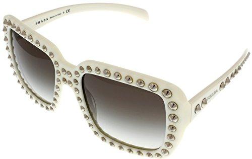 Prada Sunglasses Women Ivory Square PR30QS - Cheap For Prada