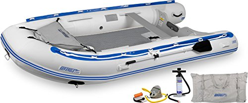 - Sea Eagle 126SRK_D 12 ft. 6 in. Rigid Inflatable Keel Boat Capacity 6 Adults