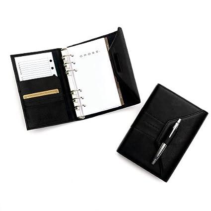Amazon.com : Cross Autocross Leather, Personal Agenda, Black ...
