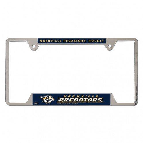 Sport Metal Predator - WinCraft NHL Nashville Predators Metal License Plate Frame