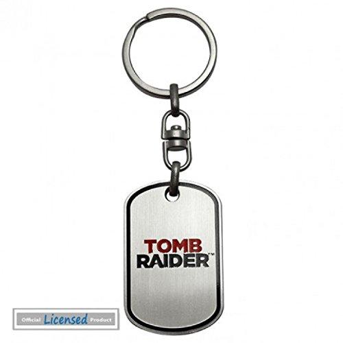 Amazon.com : Tomb Raider Keychain Keyring For Fans - Logo (2 ...
