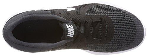 Nike Revolution 4 (GS), Zapatillas de Entrenamiento Para Niños Negro (Black/white-anthracite 006)