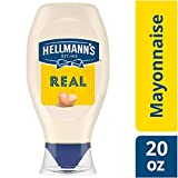Hellmann s Real Mayonnaise, Squeeze, 20 oz