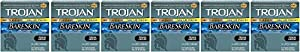Trojan Condom Sensitivity Bareskin RYvjd Lubricated - 24 Count (6 Pack)