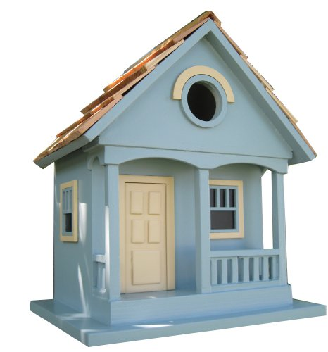 Pacific Grove Birdhouse, Blue