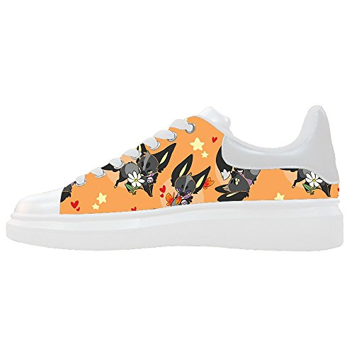 Le Scarpe Fox Dalliy Le Scarpe Shoes Custom Scarpe Women's Canvas Le SwOgq1x