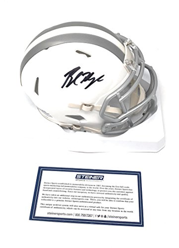 Baker Mayfield Cleveland Browns Signed Autograph ICE Mini Helmet Steiner Sports Certified