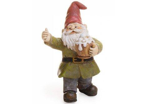Miniature Fairy Garden Cheers Gnome