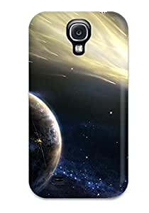 AwTYWIi7881XHxoi Tpu Phone Case With Fashionable Look For Galaxy S4 - Comet