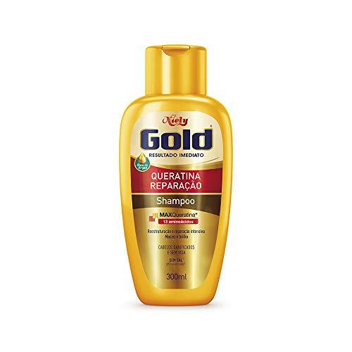Gold Shampoo Queratina Reparação Niely