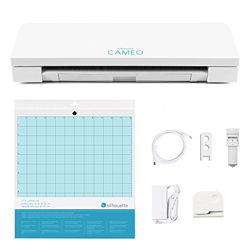 Silhouette SILHOUETTE-CAMEO-3-4T Cameo 3 Wireless Cutting Machine-AutoBlade-Dual Carriage-Studio Software