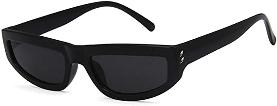 Unisex Sunglasses Fashion Bright Black Grey Drive Holiday Square Non-Polarized UV400