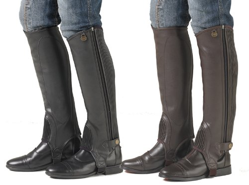 Ladies EquiStretch II Leather Half Chaps